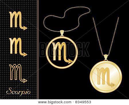 Scorpio Medallion & Pendant
