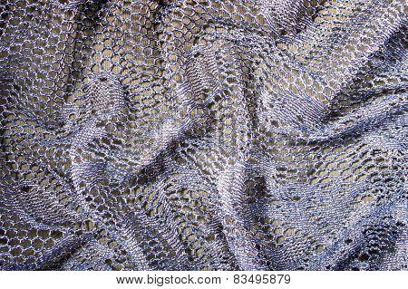 Folded Lace Background