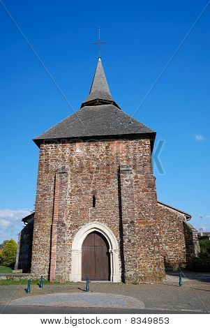 Ancient Church Of Gascony