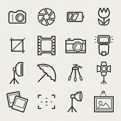 picture of outline  - Photo icons - JPG