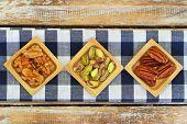 stock photo of pecan nut  - Pistachio - JPG
