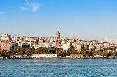 image of constantinople  - The Galata Tower  - JPG