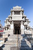 image of hindu temple  - Jagdish Temple is a large Hindu temple in Udaipur India - JPG