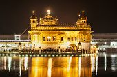 picture of harmandir sahib  - Golden Temple  - JPG