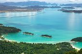 picture of langkawi  - View of Langkawi island from observation deck - JPG