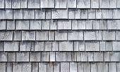 Weathered Wood Shingle Siding