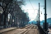 stock photo of tram  - Budapest - JPG