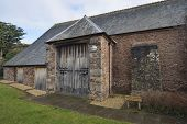 image of tithe  - Restored Dunster Tithe Barn now a Community Hall - JPG