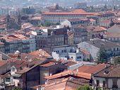 City view of Braga poster