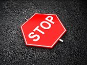 stock photo of traffic sign  - Stop  - JPG