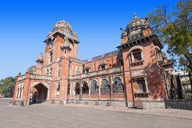 stock photo of gandhi  - Mahatma Gandhi Town Hall  - JPG