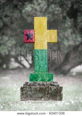 Gravestone In The Cemetery - Guinea Bissau