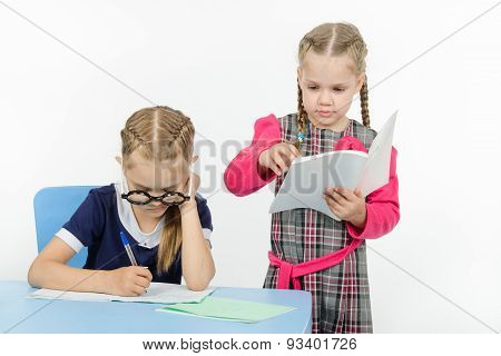 Two Girls In My Class