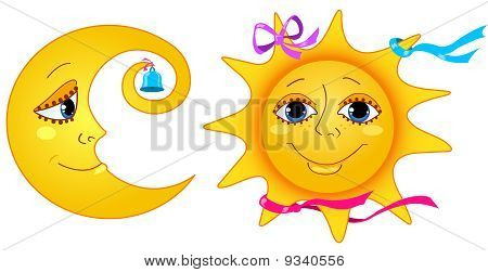 Moon And Sun.