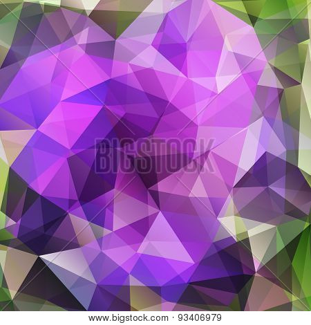 Modern geometric background with polygons