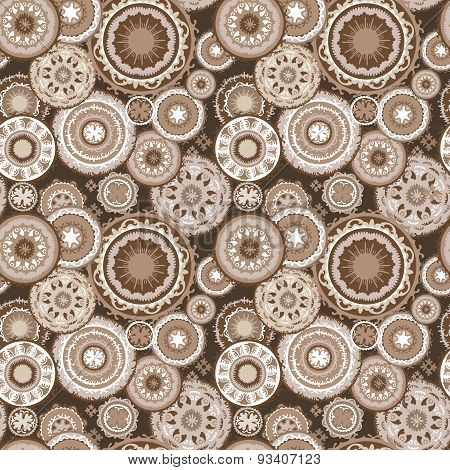 Morocco Abstract Coffee Pattern
