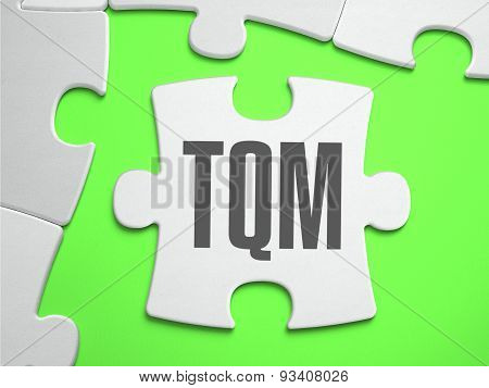 TQM - Jigsaw Puzzle with Missing Pieces.