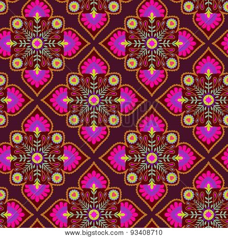 Seamless Folk Pattern