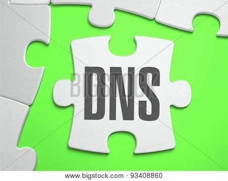 DNS - Jigsaw Puzzle with Missing Pieces.