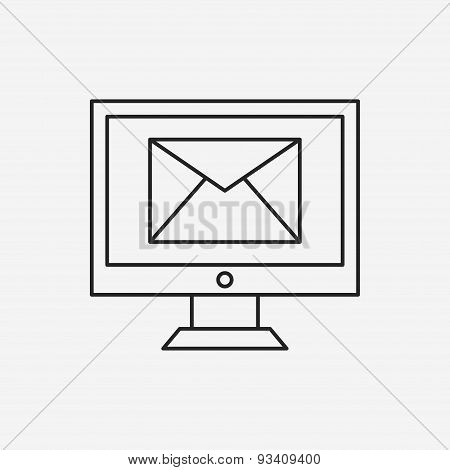 Office Mail Line Icon