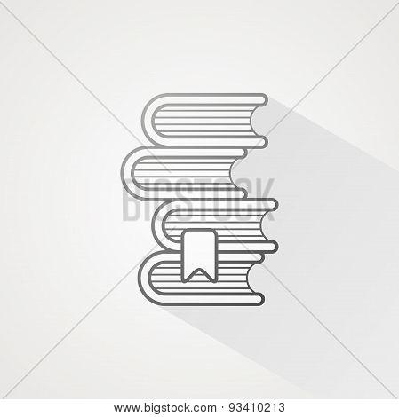 Book Line Icon