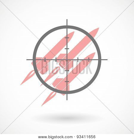 Crosshair Icon Targeting Missiles