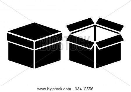 Open and closed box