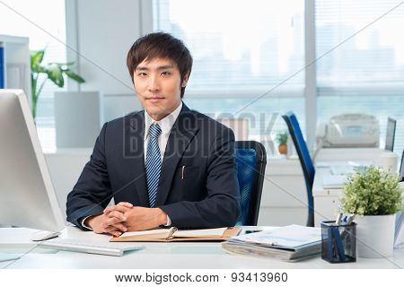 Korean Office Worker