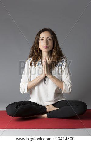 Yogi Woman Meditating