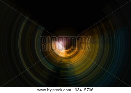 spiral radial motion background