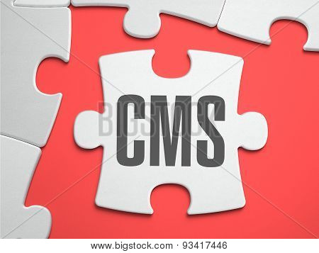 CMS - Puzzle on the Place of Missing Pieces.