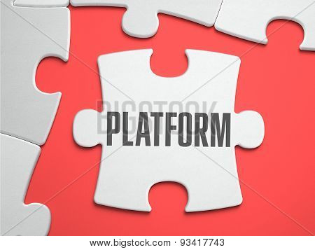 Platform - Puzzle on the Place of Missing Pieces.