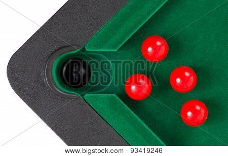 Red Snooker Balls