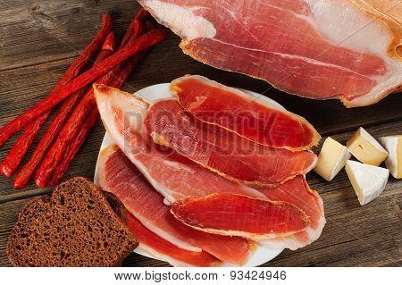 Parma Ham (jamon) Sliced