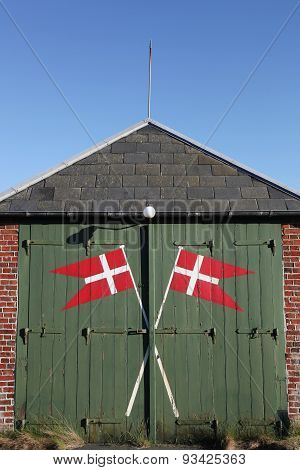 Rescue station in Blavand, Denmark