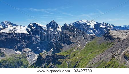View From Mount Schilthorn