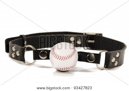 Baseball Ball Gag