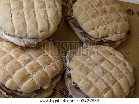 Sandwiches With Italian Porchetta
