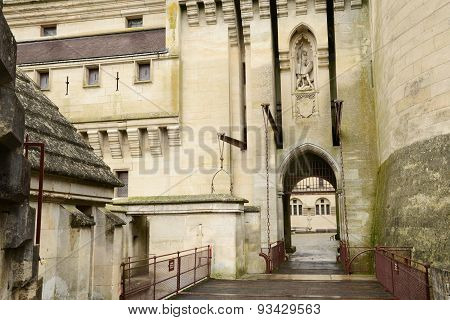 France, Historical Castle Of Pierrefonds In Picardie