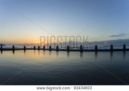 Tidal Pool Ocean Landscape
