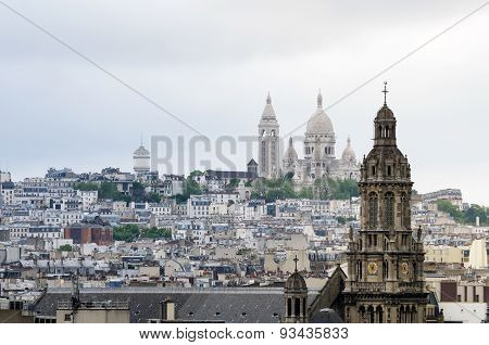 Basilica Of The Sacred Heart Of Paris, Montmartre