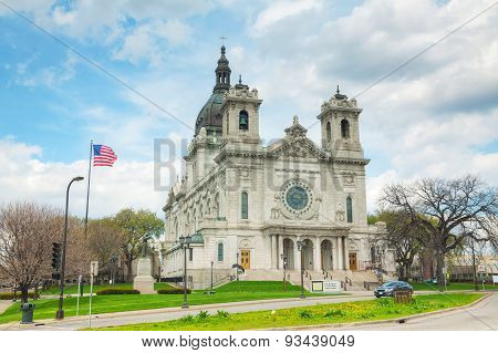 Basilica Of Saint Mary In Minneapolis, Mn