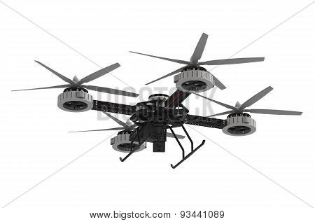 Quadrocopter Drone With Camera
