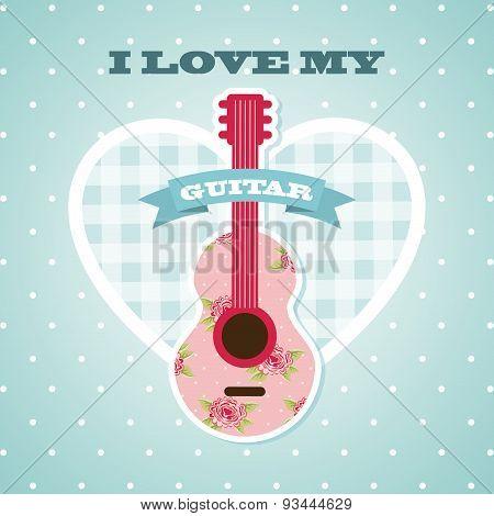 love my guitar