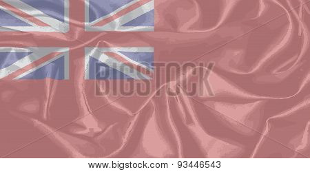 Red Duster Royal Navy Flag