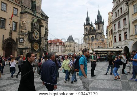 Oldtown Square In Prague