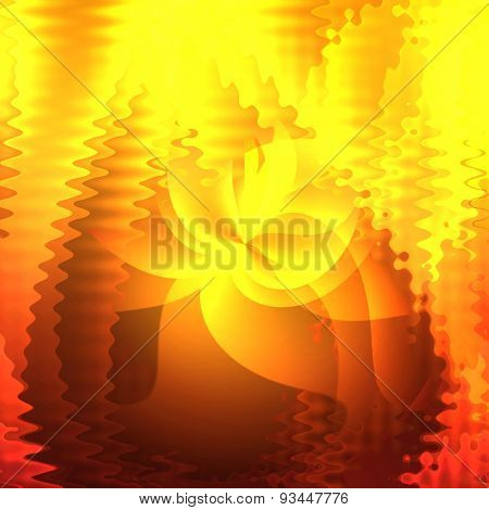 Abstract golden background for design