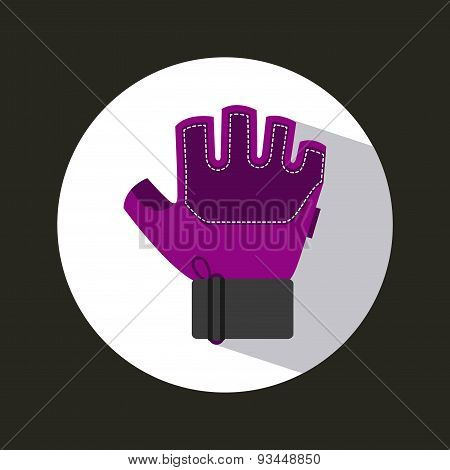 gym glove icon