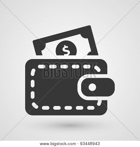 Black Cash Icon