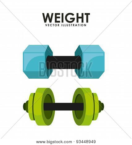 gym weights icon